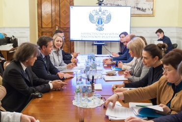 Linguaxtrem_Moskau_Vizekulturministerin