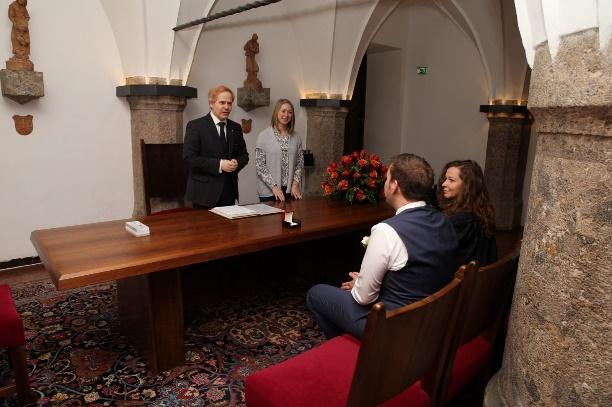 Standesamtliche Trauung in Innsbruck